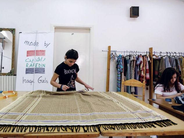Rafedin was created specifically for Iraqi refugee women in Amman, Jordan
