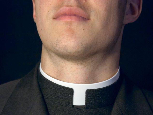 Collar of priest