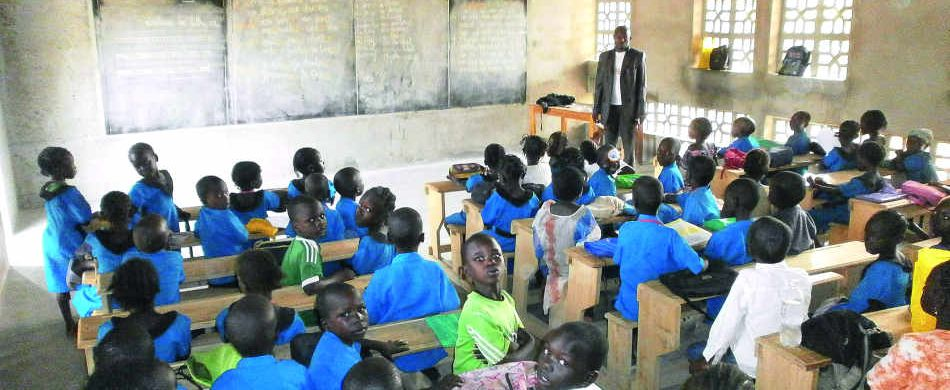 Overcrowded classrooms are commonplacein the school - Provided photo