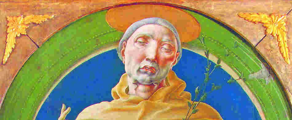 St. Anthony by Cosimo Tura, c. 1485, Galleria Estense, Modena